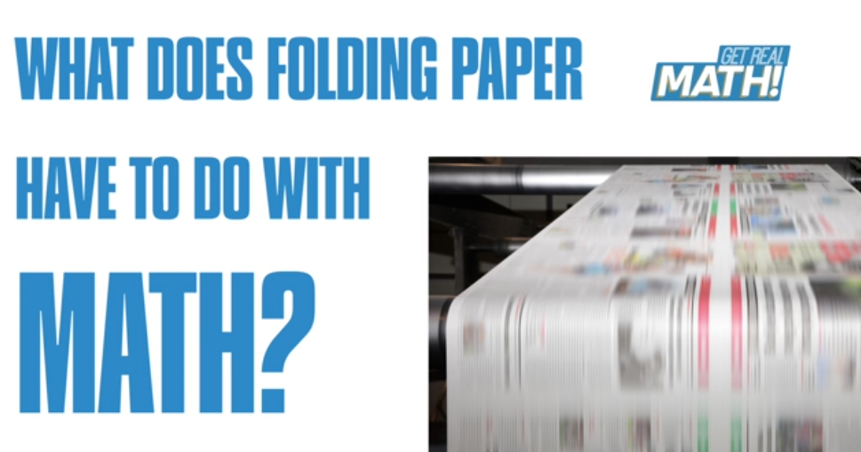 What does folding paper have to do with math? Thumbnail
