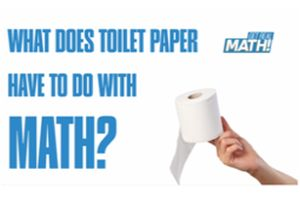 What does toilet paper have to do with math? Thumbnail