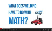 What does welding have to do with math?