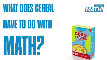 What does cereal have to do with math?