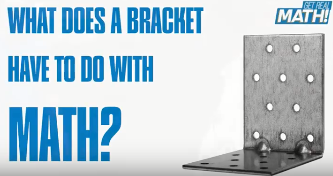 What does a bracket have to do with math?
