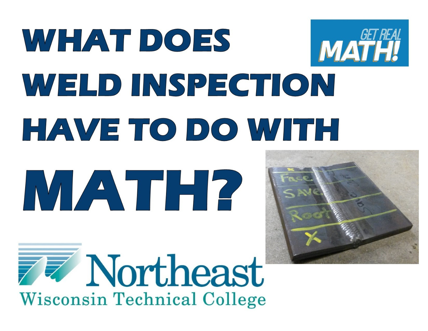 What does weld inspection have to do with math?