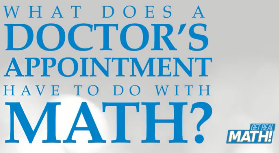 What does a doctor's appointment have to do with math?