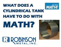 What does a cylindrical tank have to do with math?