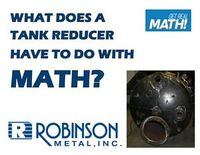 What does a tank reducer have to do with math?