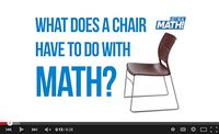 What does a chair have to do with math?