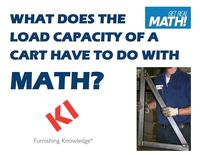 What does the load capacity of a cart have to do with math?
