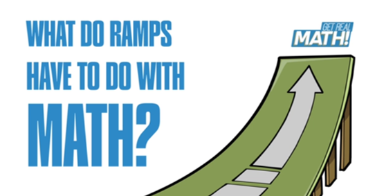 What do ramps have to do with math?