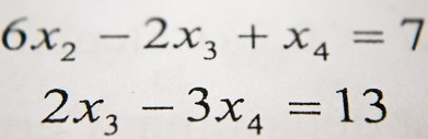 Algebra equation